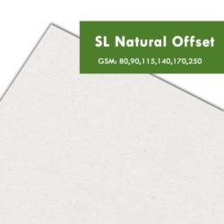 papier recyklingowy SL Natural Offset drukarnia