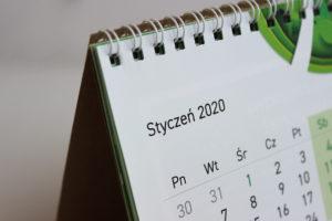 eko biurkowy kalendarz drukarnia Recyklus