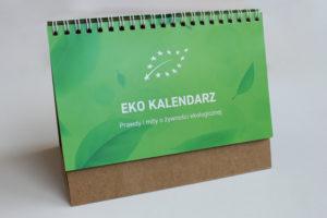 kalendarz biurkowy z recyklingu