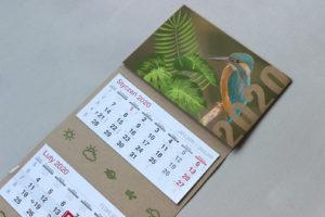 drukarnia zielona gora kalendarz ekologiczny trójdzielny