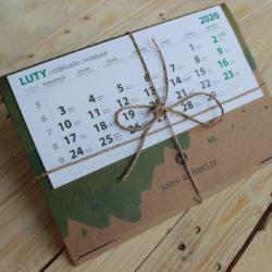 kalendarz ekologiczny ścienny drukarnia