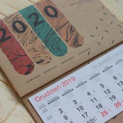 drukarnia kalendarz ekologiczny trójdzielny