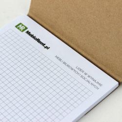 notes ekologiczny z okładką drukarnia zgora