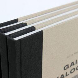 grzbiet z płótna drukowanie książek